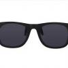 Wayfarer look Clipon bril