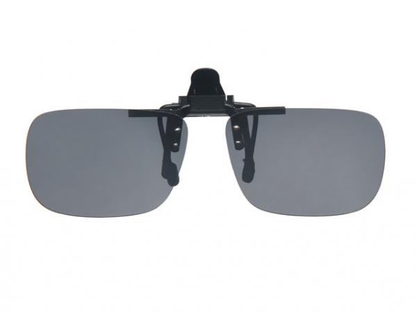 POL482 zonnebril sunday flip up grijs