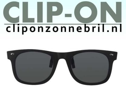 clip-on groen wayfarer