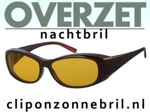Overzet nachtbril klein model