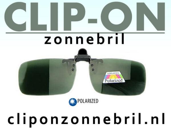 Zonnebril clipon