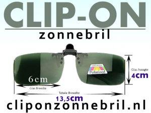 Zonnebril Flip Up Basis
