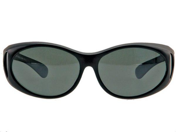 Overzet zonnebril Mat Zwart