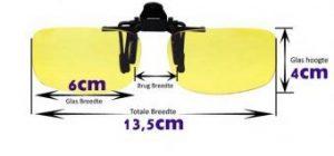 Nachtbril Flip Up